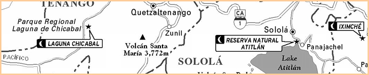 Chicabal Map